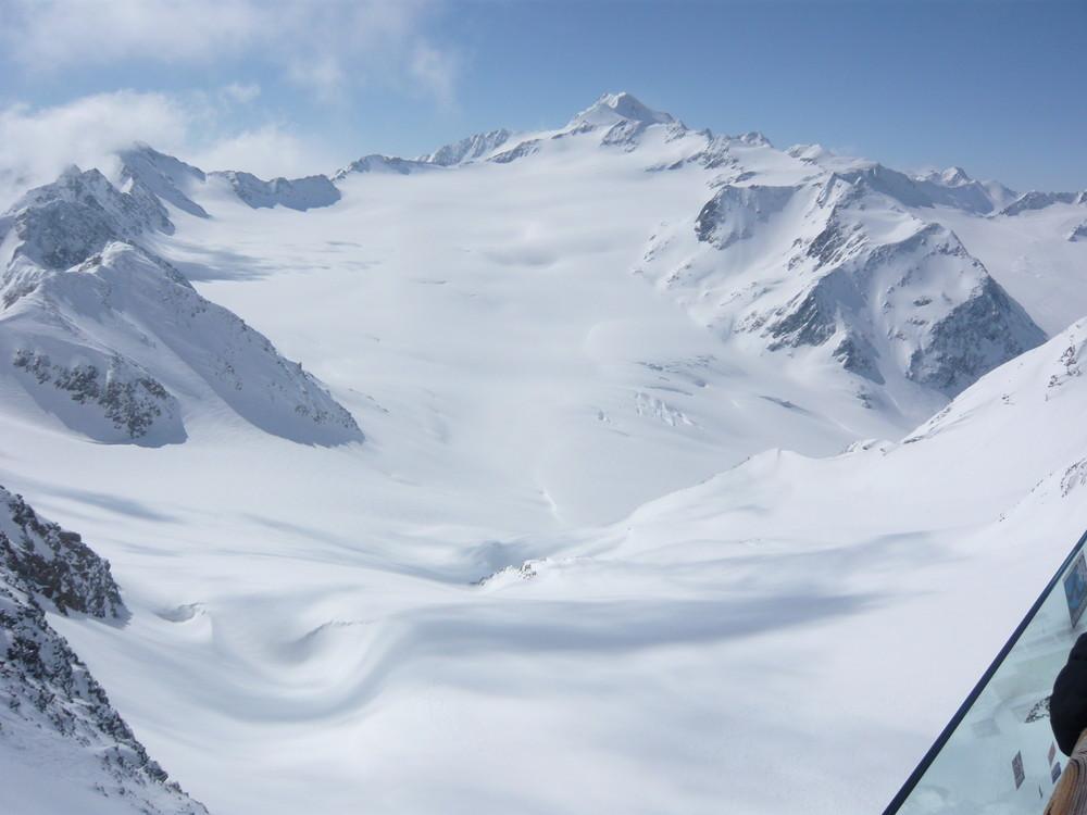 Gletscheraussicht