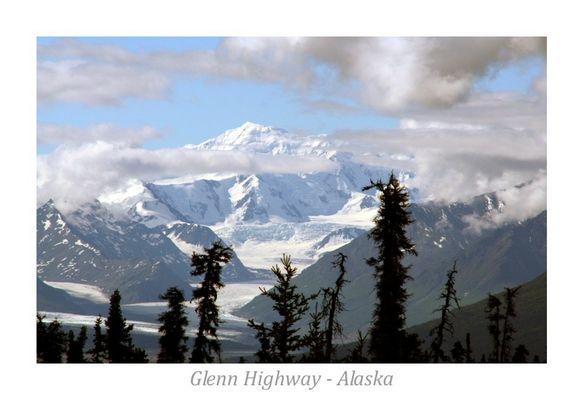 Gletscheraussichten am Glenn-Highway