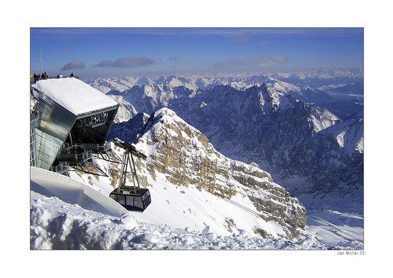 Gletscherbahn zur Zugspitze