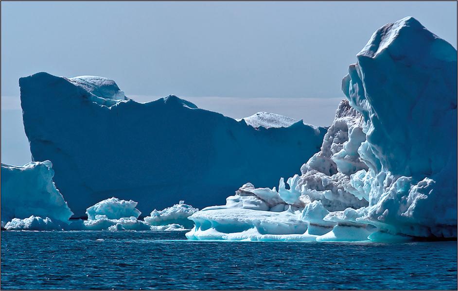 gletschereis in seiner vielfalt