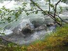Gletscherfluss vom Jostedalsbreen (Norwegen)
