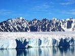 Gletscherkante am Ende des Lilliehoekfjords
