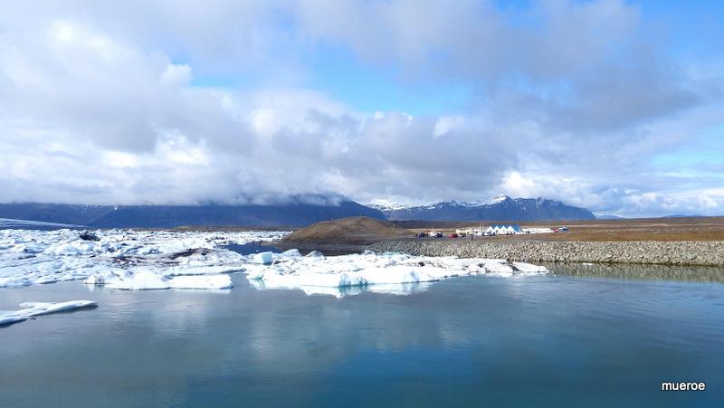 Gletscherlagune auf Island