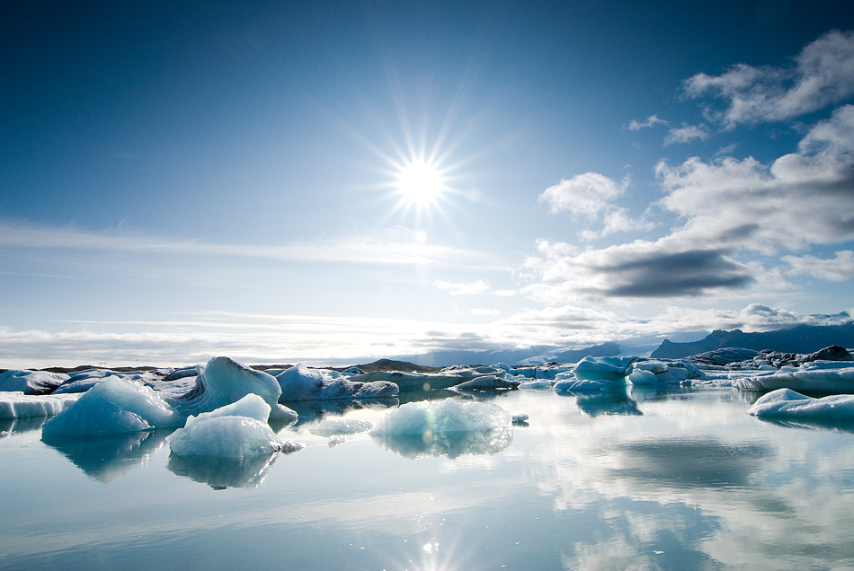 Gletscherlagune / Island