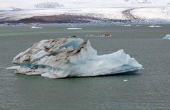 Gletscherlagune Jökulsárlón (Island) -3-