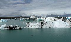 Gletscherlagune Jökulsárlón (Island)  -4-