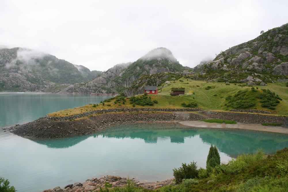 Gletschersee in Norwegen