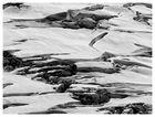 Gletscherspalten ...