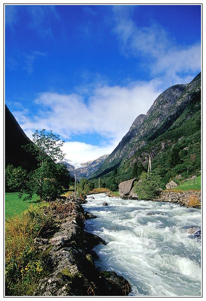 Gletschertal in Norwegen