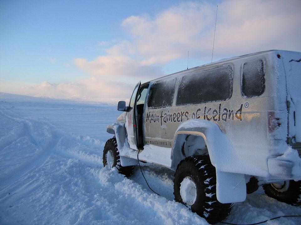 Gletschertour auf Islands Gletschern