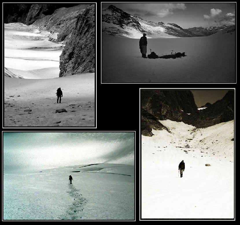 Gletscherwege....