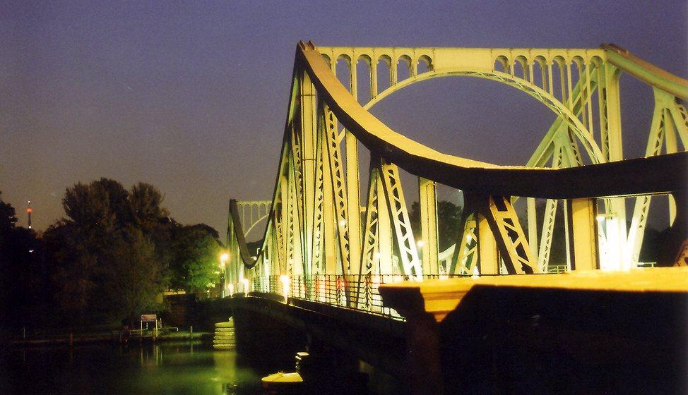 Glienicker Brücke - Blick nach Potsdam