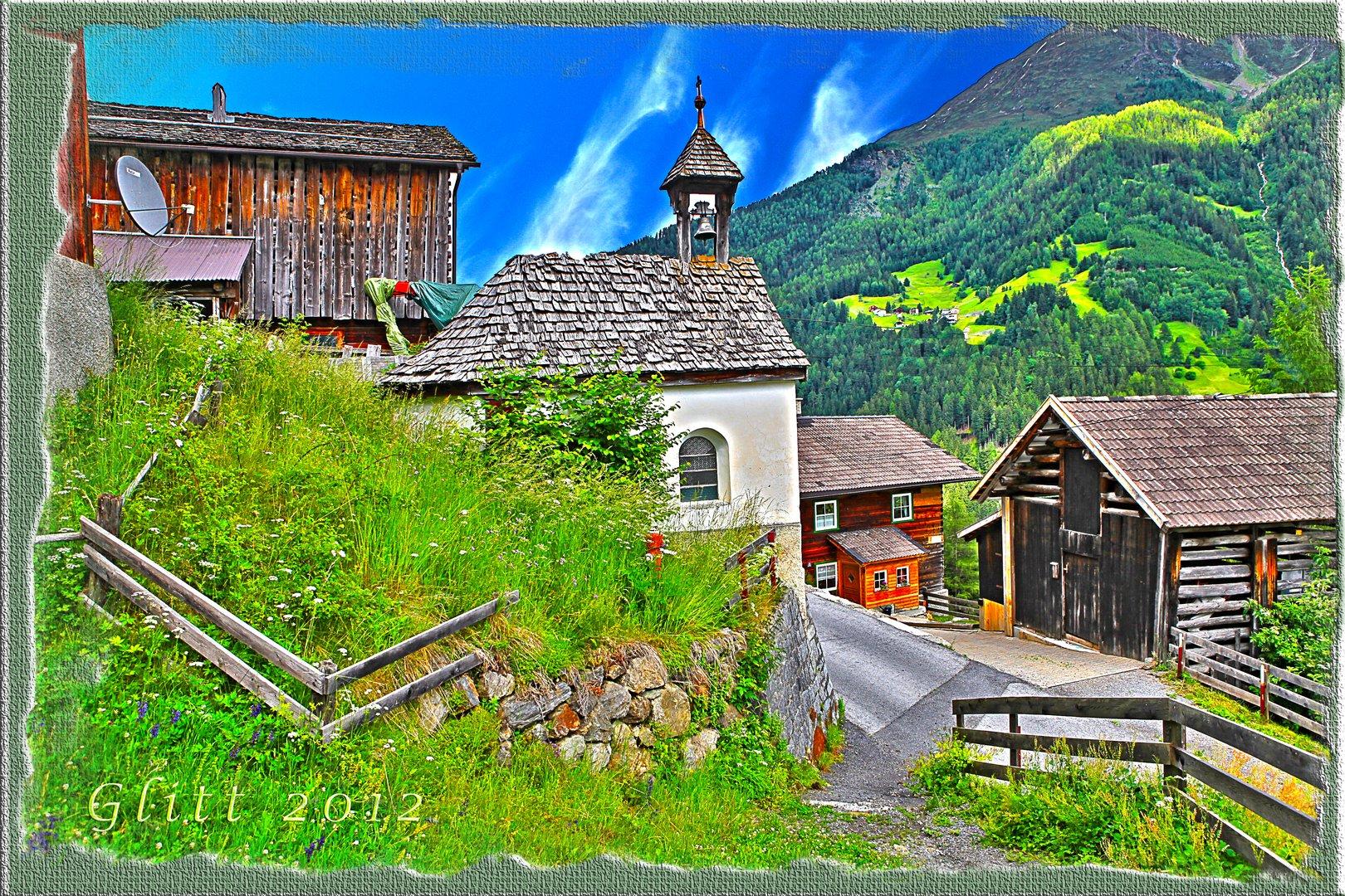 Glitt ein kleiner Weiler in See Patznauntal (HDR)