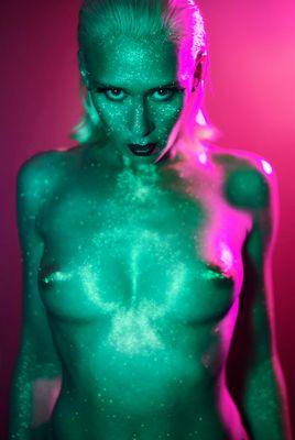 Glitter Alien