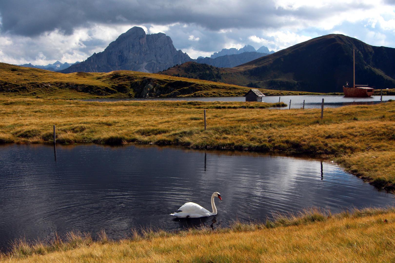 Glittner See oberhalb von Lüsen