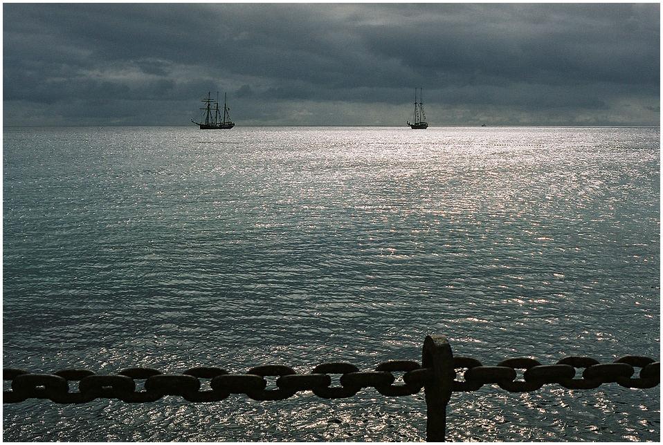 Glitzender Atlantik