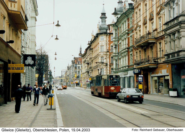 Gliwice (Gleiwitz), Górny Slask (Oberschlesien), Polen, 2003