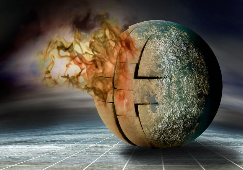 Global heating...