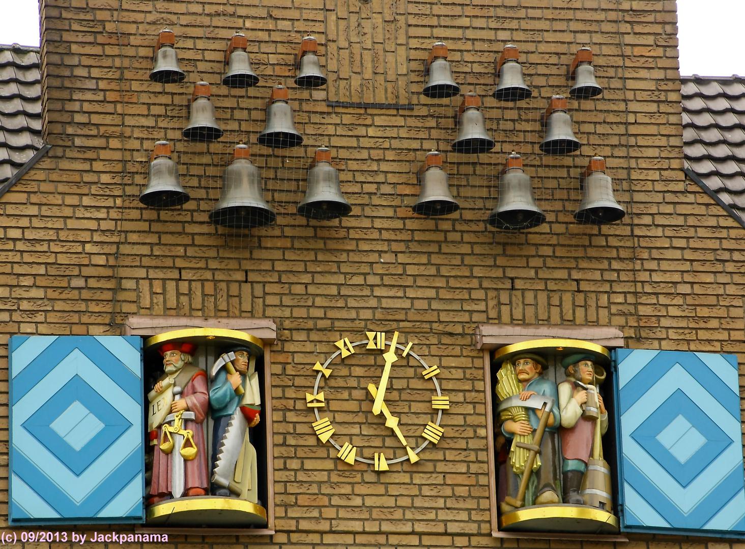 Glockenspiel am Marktplatz in Dorsten