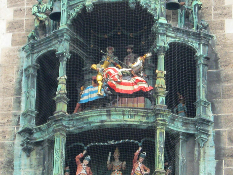 Glockenspiel in München