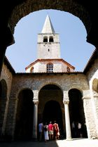 Glockenturm der Basilika von Porec