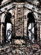 Glockenturm der Trinitatiskirche in Dresden 1