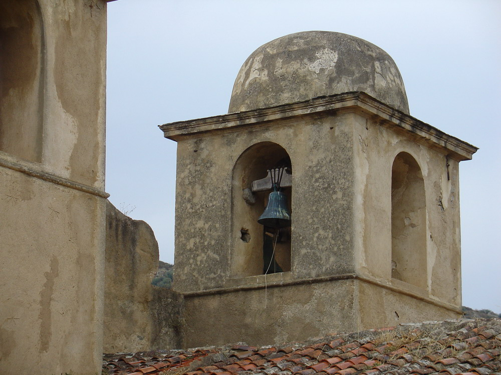 Glockenturm in Pigna