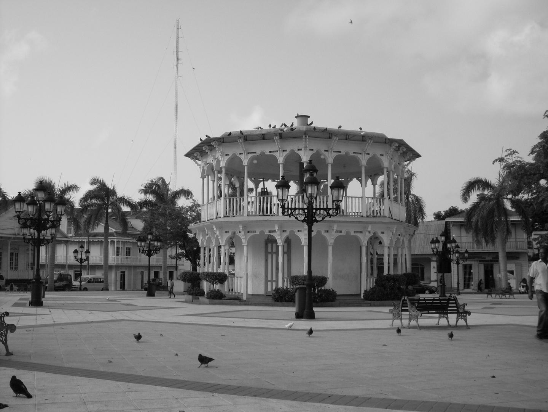 Glorieta parque central de Puerto plata,RD