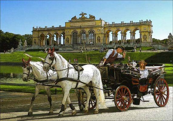 Gloriette in Schönbrunn (Wien-Vienna)
