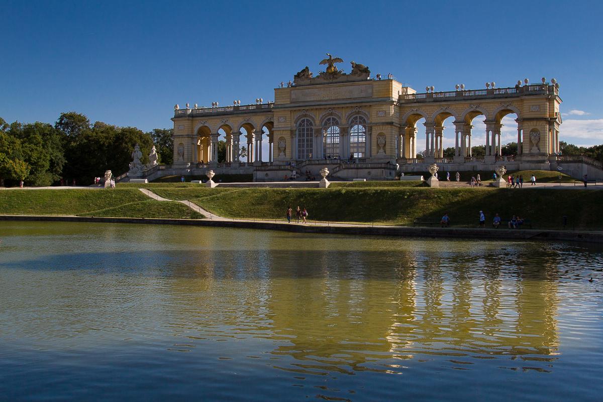 Gloriette von Schloß Schönbrunn ( Wien )