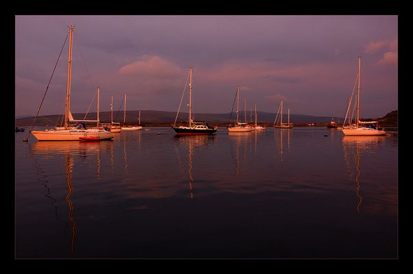 - Glowing Boats -