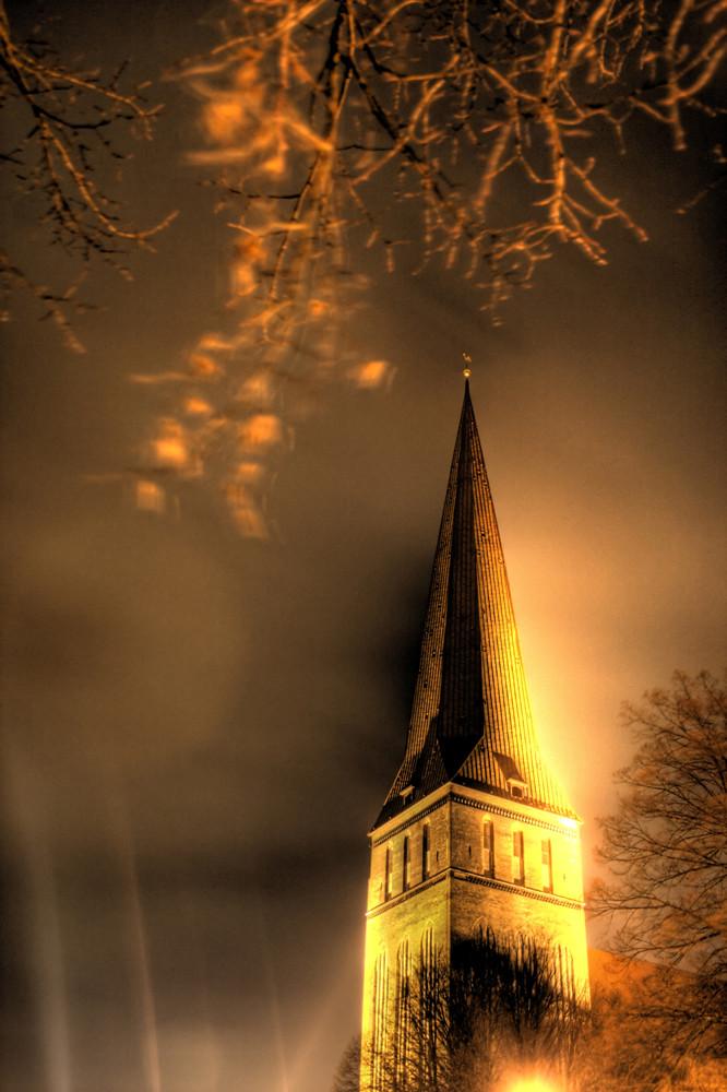 Glowing Churchtower