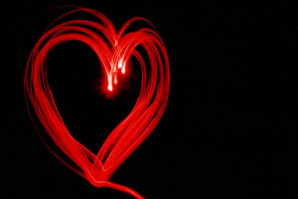 GLOWING HEART
