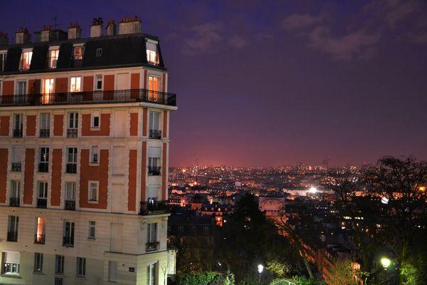 Glowing Montmartre