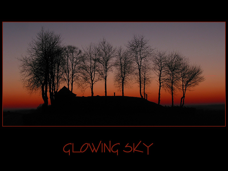 Glowing Sky