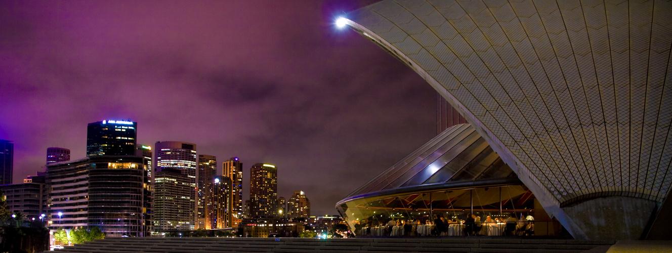 Glowing Sydney