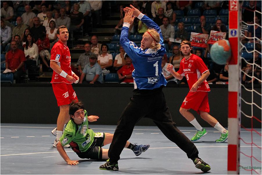 ... Glück gehabt - Handball Bundesliga 2013
