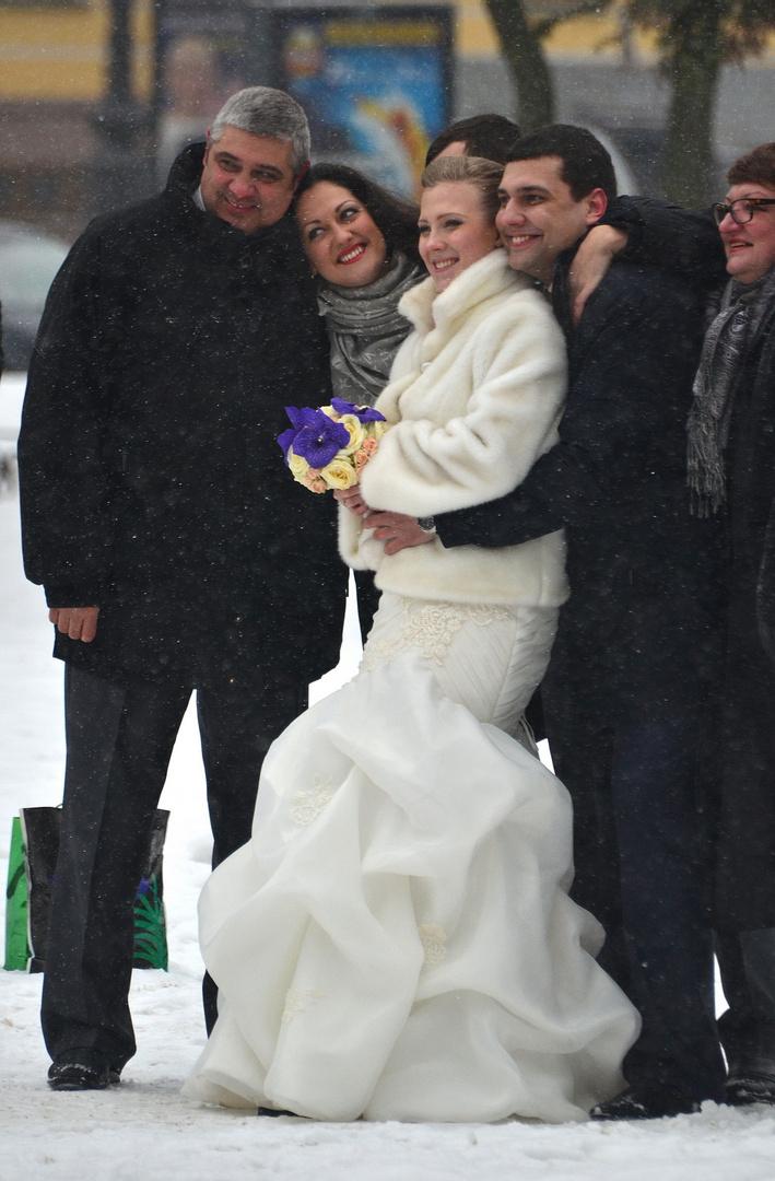 Glück im Schnee
