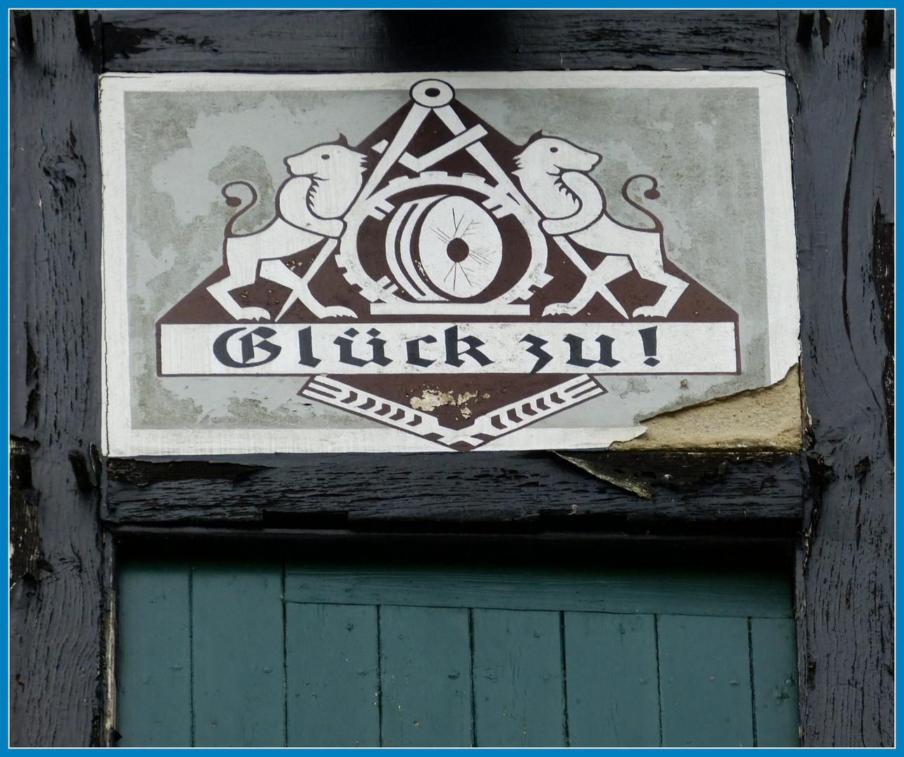Glück zu! Müllergruß Ulenburg Schloßmühle