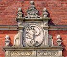 Glückstadt an der Elbe Rathaus Eingang