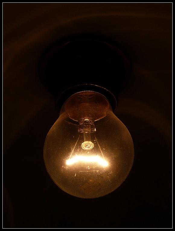 Glühbirne - so sieht's aus