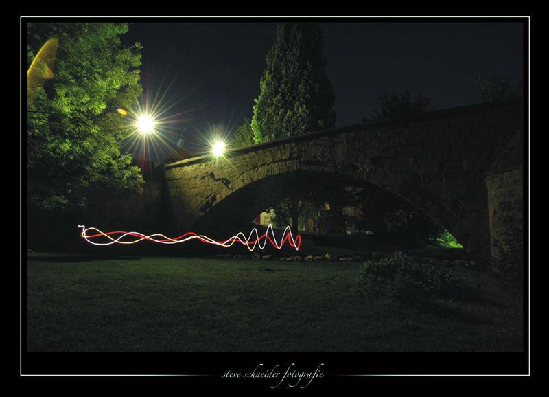 Glühwürmchen.... oder andere Besucher