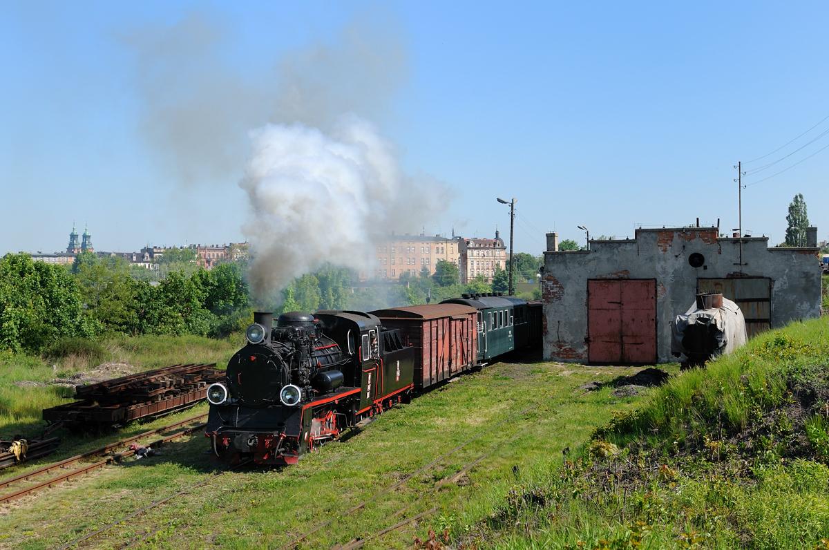 Gnesener Kleinbahn-Idylle