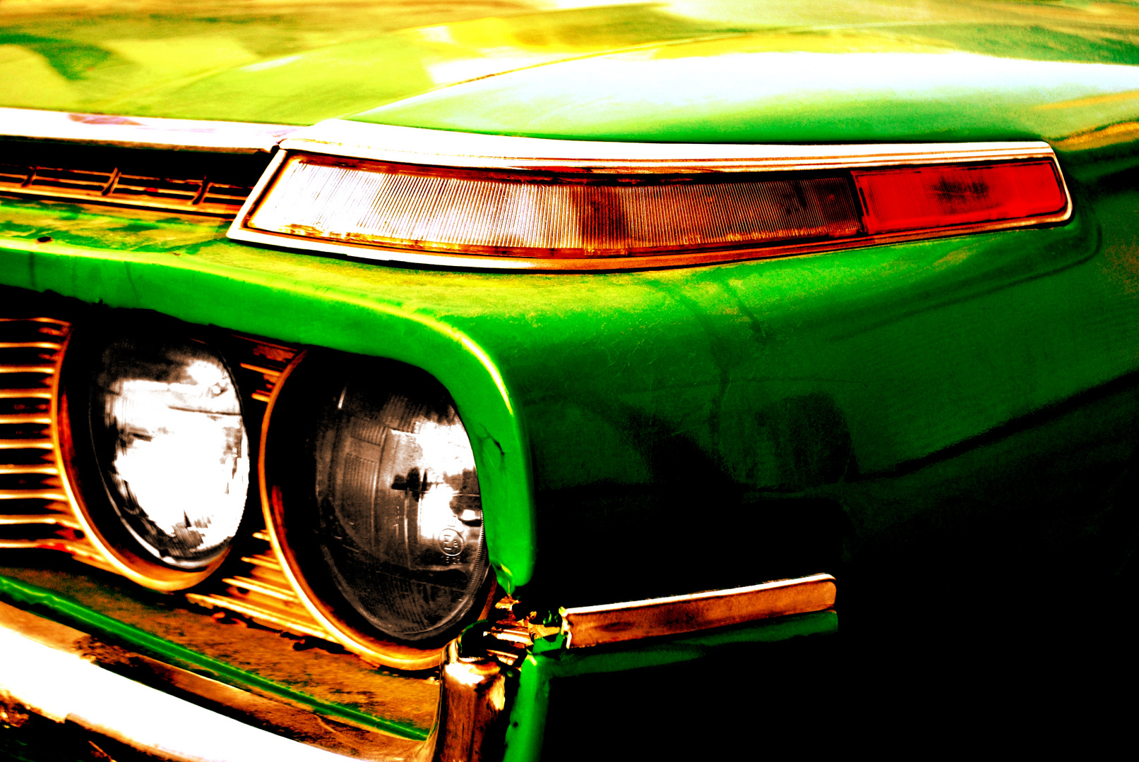 go for a spin with the green hell