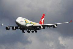 Go Qantas Wallabies!