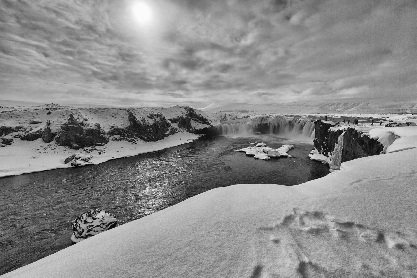 Goðafoss - Götterwasserfall