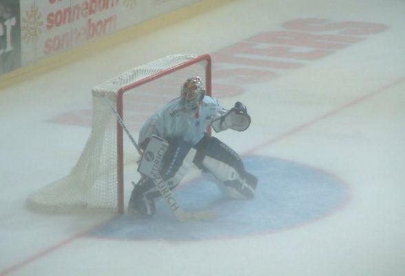 Goalie im Nebel