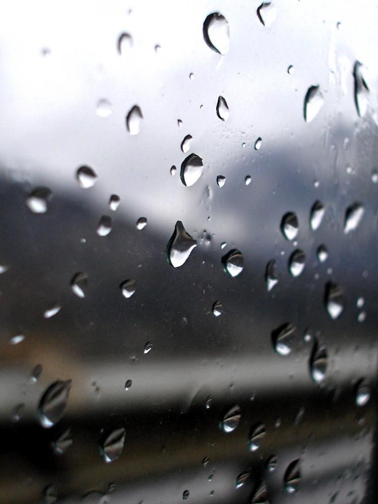 Goccie di pioggia primaverile
