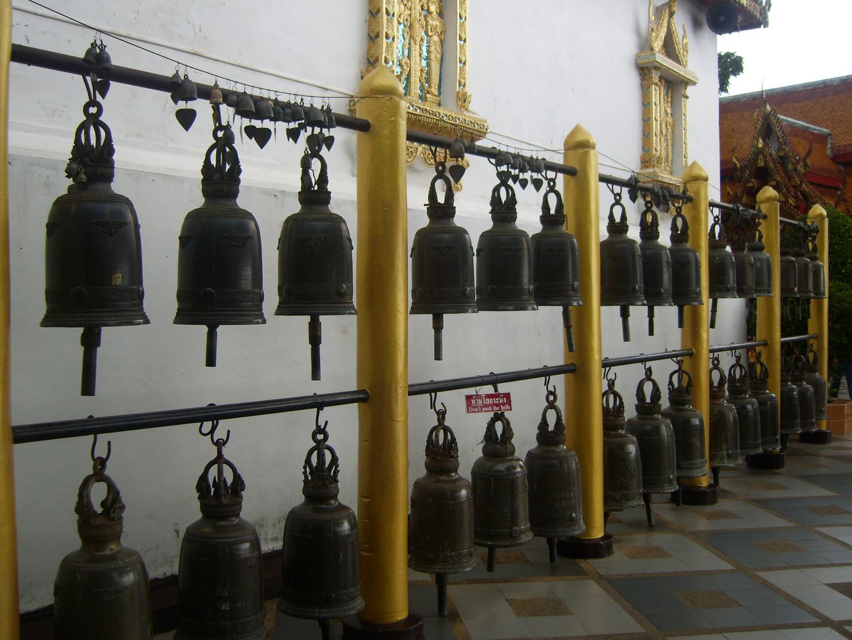 Gocken im Wat Doi Suthep