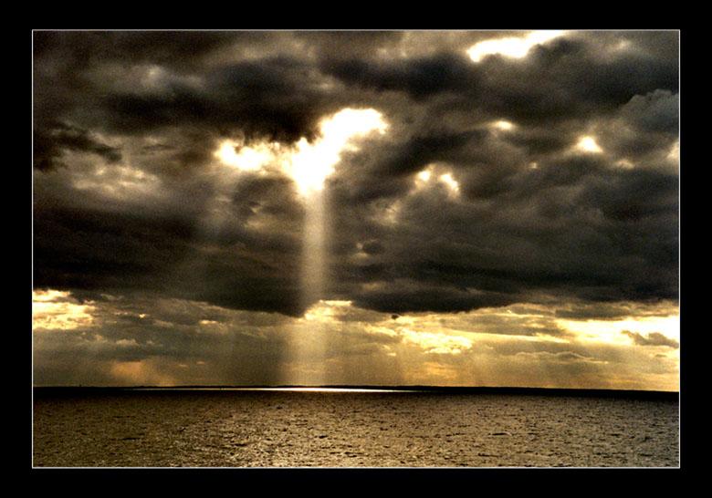 God beams...